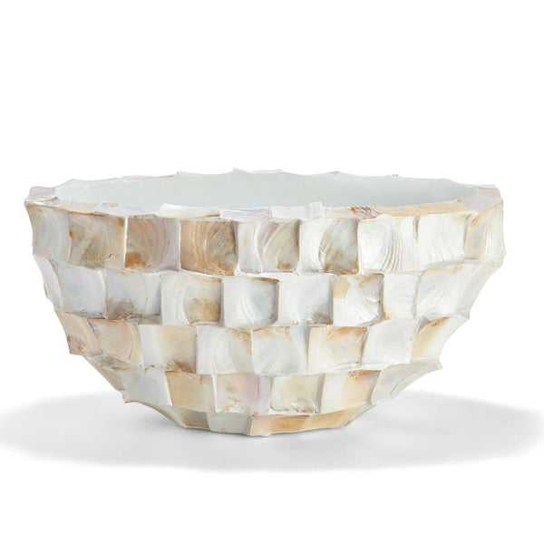 Mother of Pearl Oval Planter