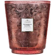 Persimmon & Copals Hearth Candle with Lid