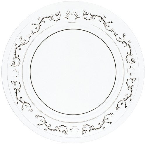 Versailles Glass Canape Plate
