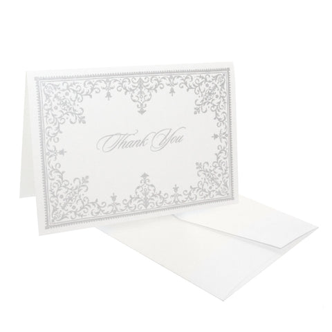 Victoria Border Thank You Notes, RSVP-Style - RSVP Style