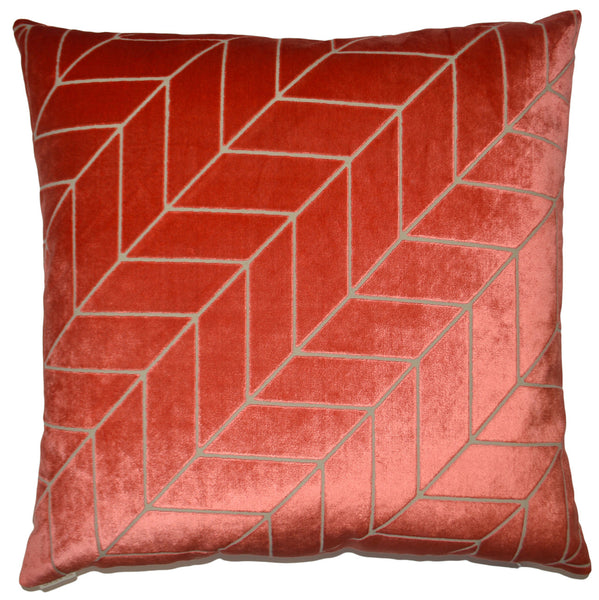 Villa Throw Pillow  |  Coral