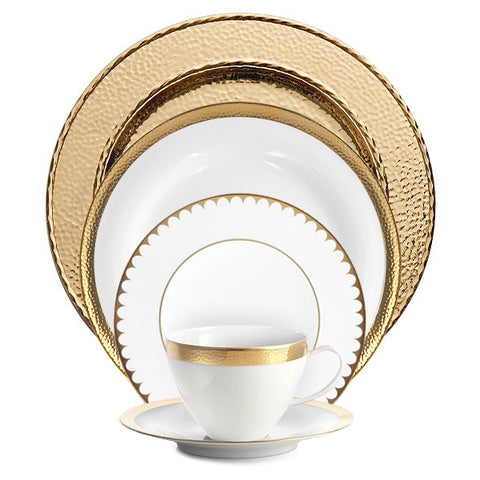 Gold 5-Piece Place Setting