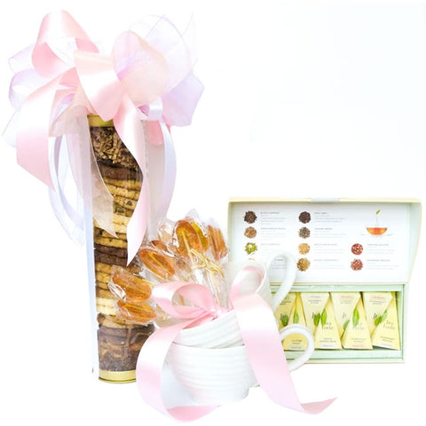 """Afternoon Tea-light"" Gift Box - RSVP Style"