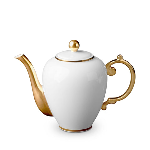 L'Objet Aegean Gold Coffee Pot - RSVP Style