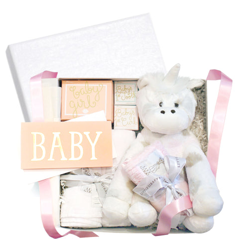 RSVP Style It's a Girl Baby Gift Box