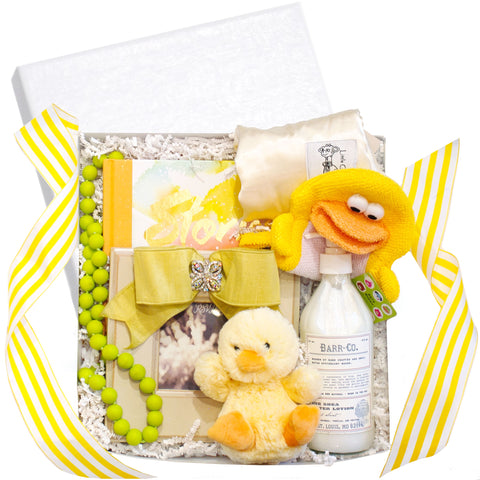 "RSVP Style ""Gender Neutral"" Baby Gift Box"