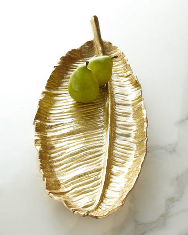 New Leaves Large Banana Leaf Platter