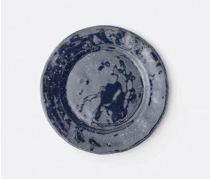 Isla Spotted Navy Dinner Plate