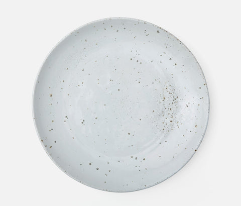 Marcus White Salt Glaze Round Serving Platter | Large