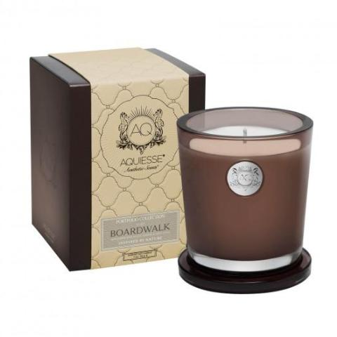 Boardwalk · Large Candle, Aquiesse - RSVP Style