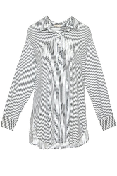 Eberjey Nordic Stripes Boyfriend Sleep Shirt