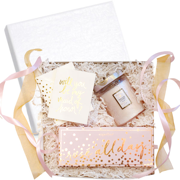 """Be My Bridesmaid"" Gift Box - RSVP Style"
