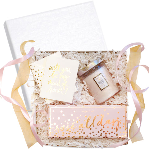 """Be My Bridesmaid"" Gift Box, RSVP Style - RSVP Style"