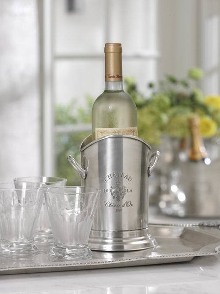 Chateau d'Or Pewter Wine Holder