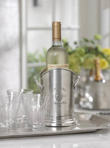 Chateau d'Or Pewter Wine Holder - RSVP Style