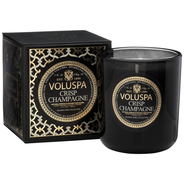 Crisp Champagne  ·  Classic Maison Boxed Candle