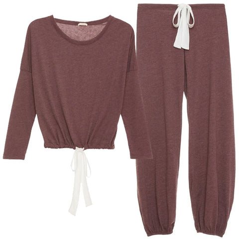 Heather Slouchy Set