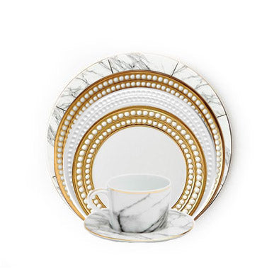 Eleni Perlee 6 Piece Marble Place Setting