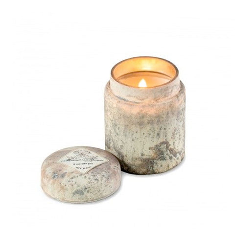 Mountain Fire Glass Candle Pot—Manor House - RSVP Style