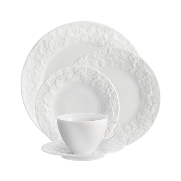 Forest Leaf 5-Piece Place Setting