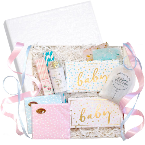 """Gender Reveal Party"" Gift Box, RSVP Style - RSVP Style"