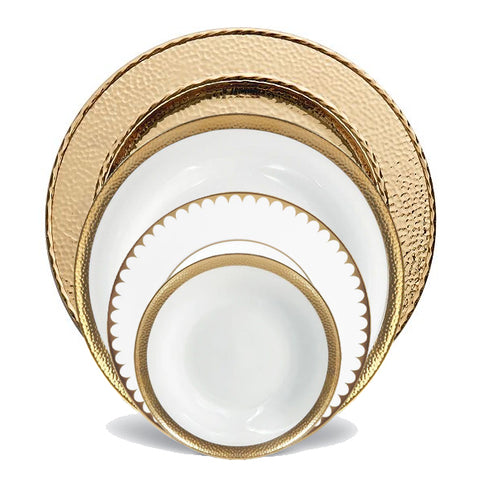Gold 4-Piece Place Setting