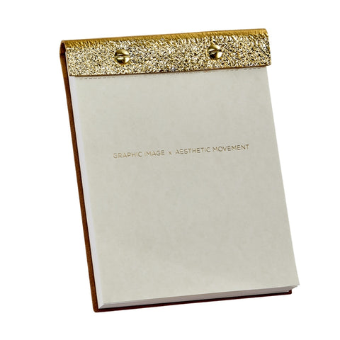 Hand Finished Leather Desk Notepad - RSVP Style