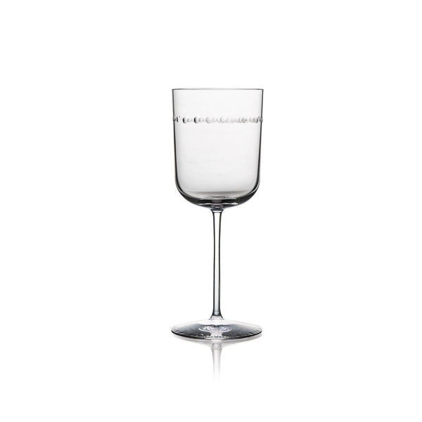Hammertone Water Glass