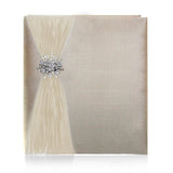 "8"" x 10"" Custom Photo Album Ivory"