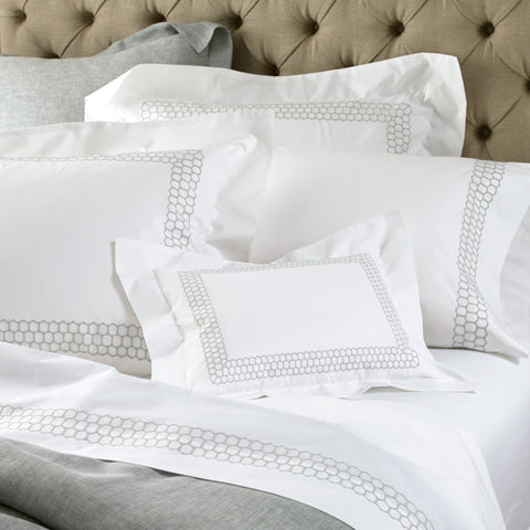 Liana King Pillowcase — Silver - RSVP Style