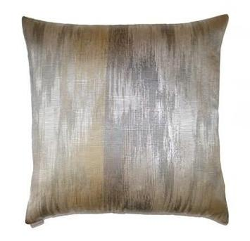 Lumina Throw Pillow | Silver