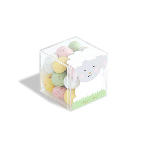 Milk Chocolate Marshmallow Eggs Lamb Candy Cube