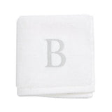 "Milagro Wash Cloth—Monogram ""B"""