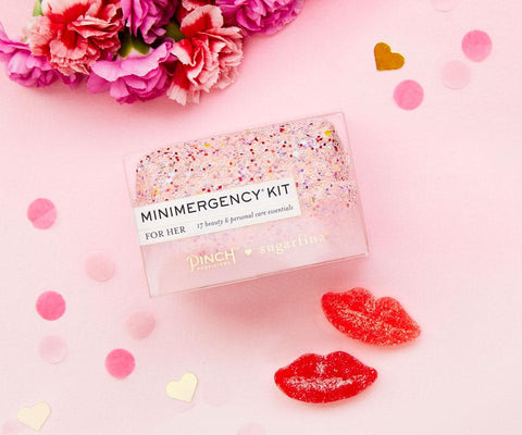 Pinch X Sugarfina Miniemergency Kit