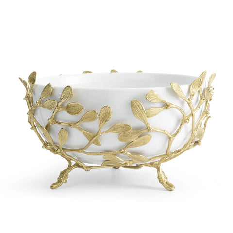 Mistletoe Porcelain Serving Bowl - RSVP Style