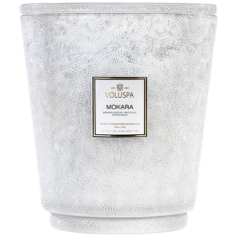 Mokara  ·  Hearth Candle with Lid