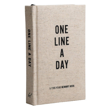 Canvas One Line A Day Journal - RSVP Style