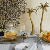 Palm Pitcher with Coaster