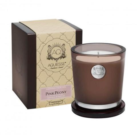 Pink Peony · Large Candle