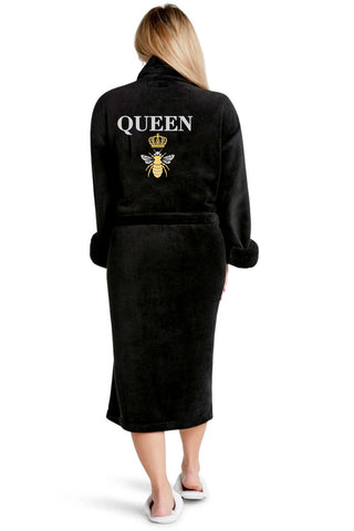 Luxe Plush Robe - Queen B