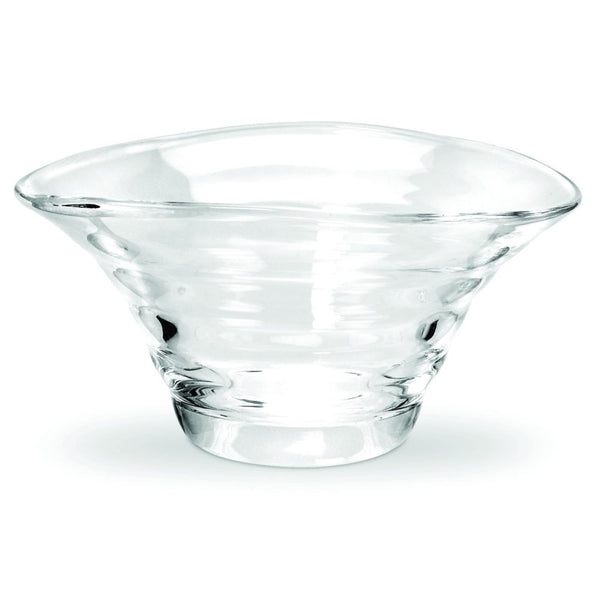 Glass Ripple Bowl