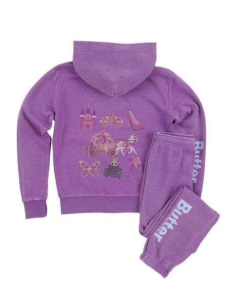 BUTTER Princess Burnout Fleece Set, Butter - RSVP Style