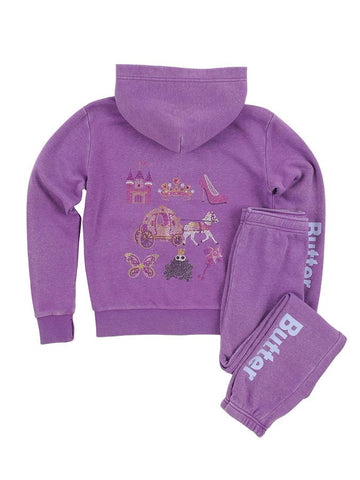 BUTTER Princess Burnout Fleece Set