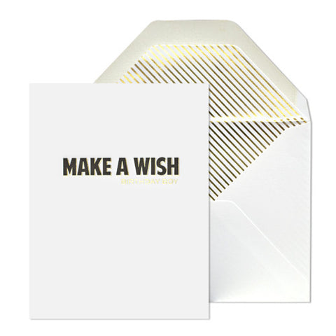 Birthday Wish Card