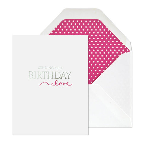 Birthday Love Card, Sugar Paper - RSVP Style