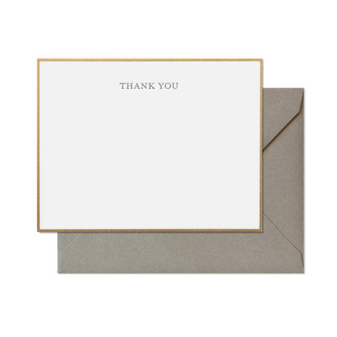 Classic Thank You Boxed Set, Sugar Paper - RSVP Style