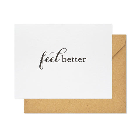 Feel Better Card, Sugar Paper - RSVP Style