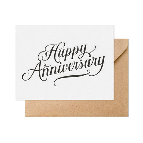 Happy Anniversary Card, Sugar Paper - RSVP Style