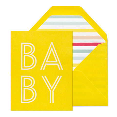 Happy Baby Card, Sugar Paper - RSVP Style