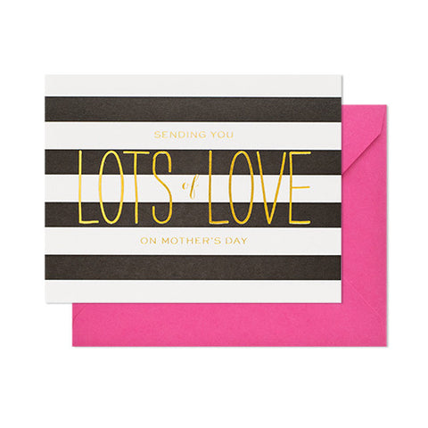 Lots of Love Mothers Day Card